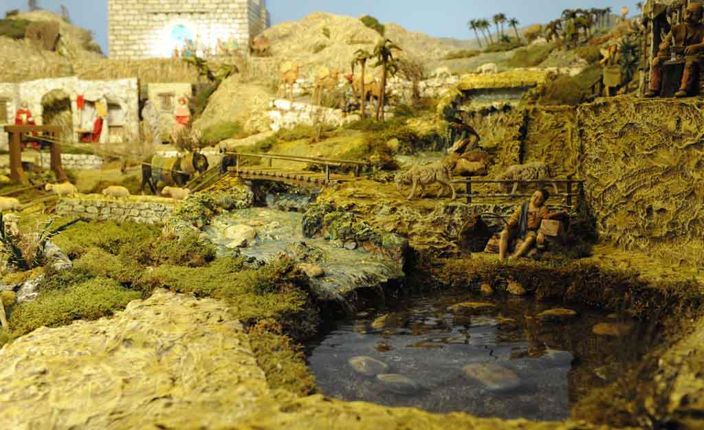 Foto presepe for Cascata per laghetto